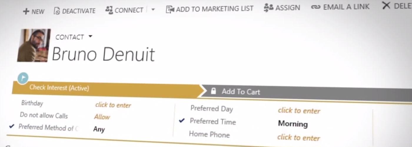 Consiga facilidad para tratar con los clientes en todos los puntos de contacto con Microsoft Dynamics CRM