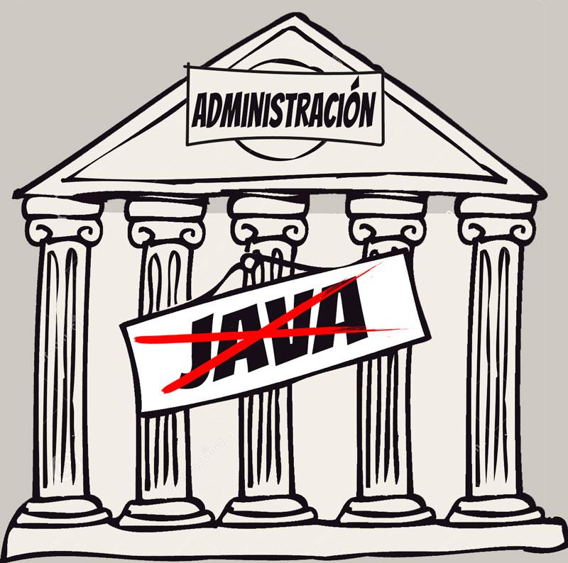 administración java