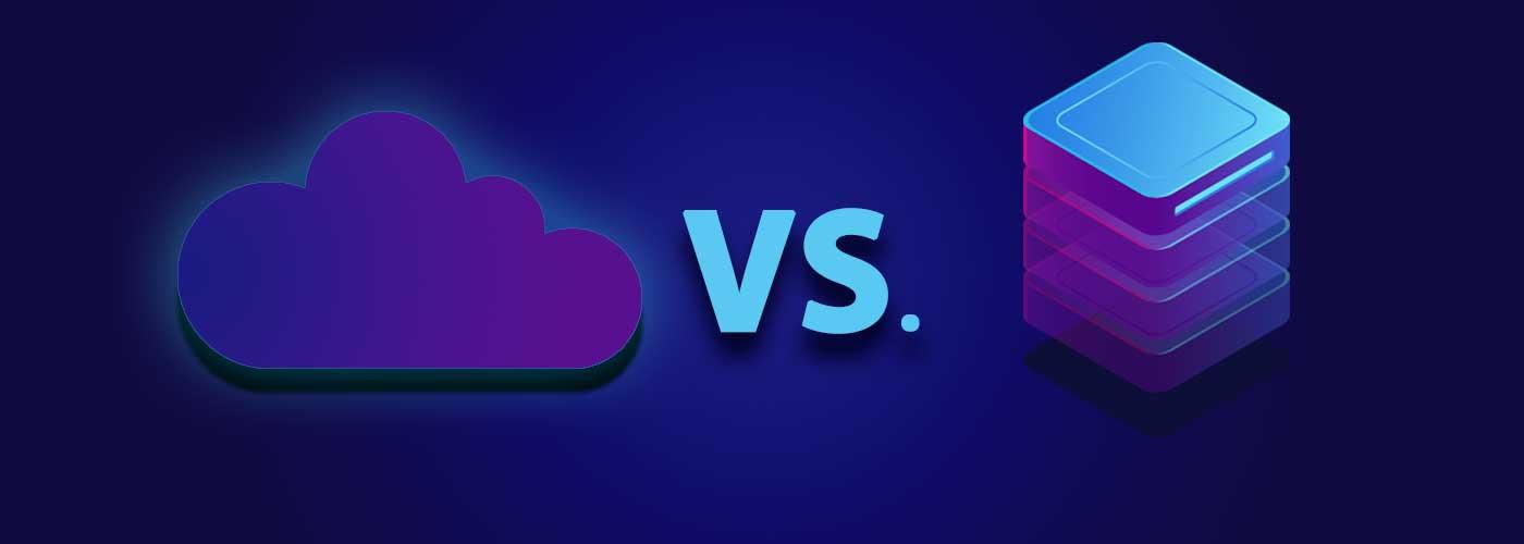 cloud vs local